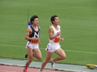 関東インカレ 1500m冨原1