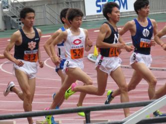 関東インカレ3000mSC萩原2
